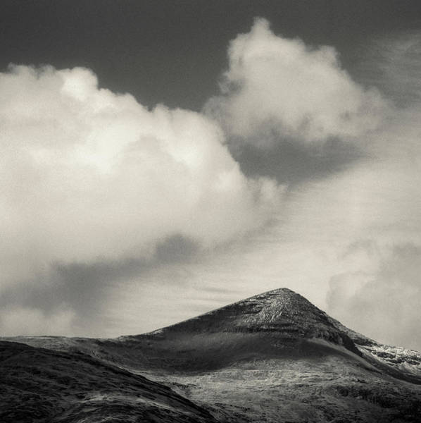 Wall Art - Photograph - Clouds Over Ben More by Dave Bowman