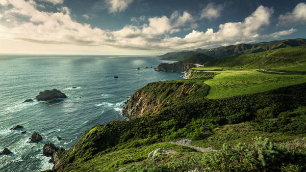 Photograph - Clouds Over Bixby Bridge by Rick Strobaugh