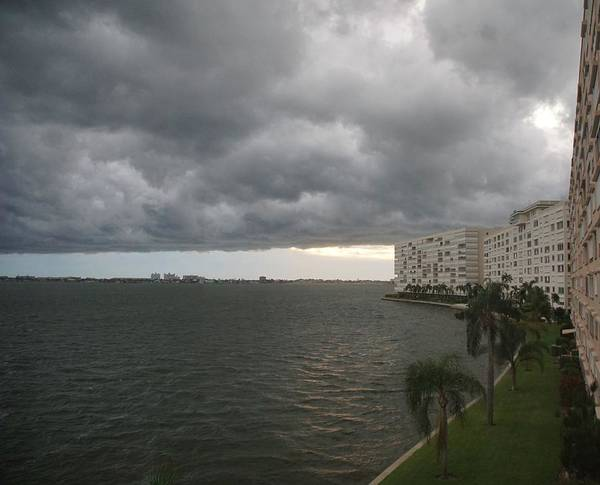 Willett Photograph - Clouds Over Boca Ciega by Mike Willett