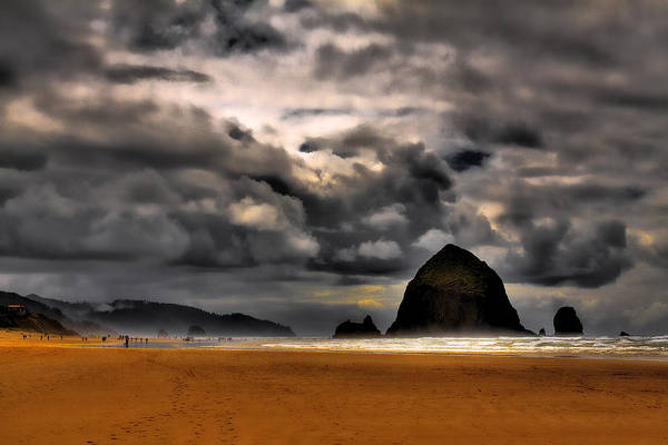 Photograph - Clouds Over Cannon Beach by David Patterson