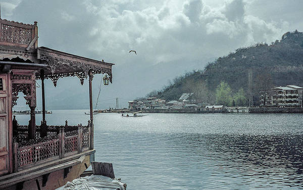 Photograph - Clouds Over Dal Lake In Kashmir by Pete Hendley