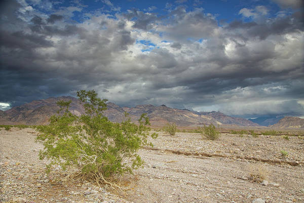 Death Valley Np Photograph - Clouds Over Echo Canyon by Kunal Mehra