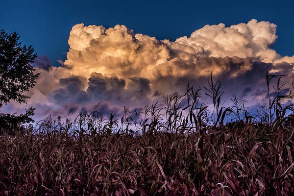 Clouds Over Fagagna Art Print