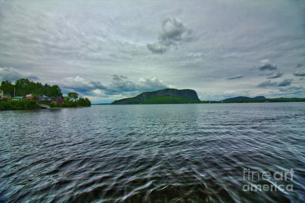 Somerset County Photograph - Clouds Over Kineo by John Kenealy