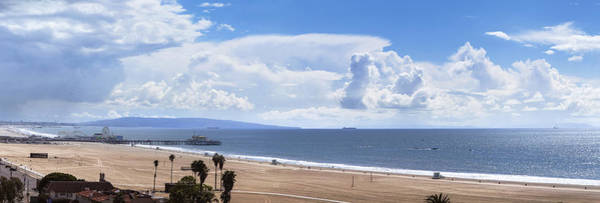 Photograph - Clouds Over The Bay - Panorama by Gene Parks