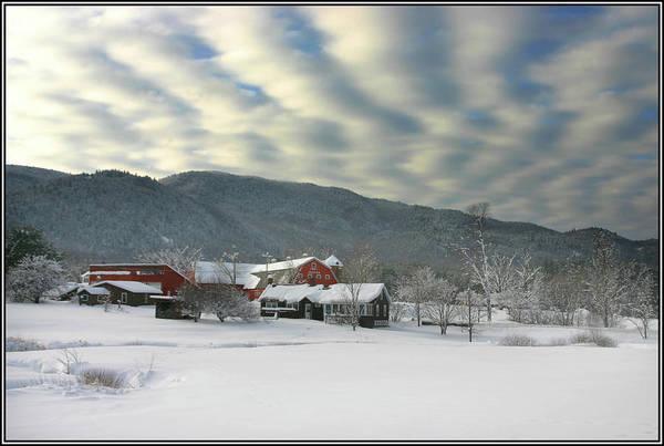 Photograph - Clouds Over The Ireland Farm - Original by Wayne King