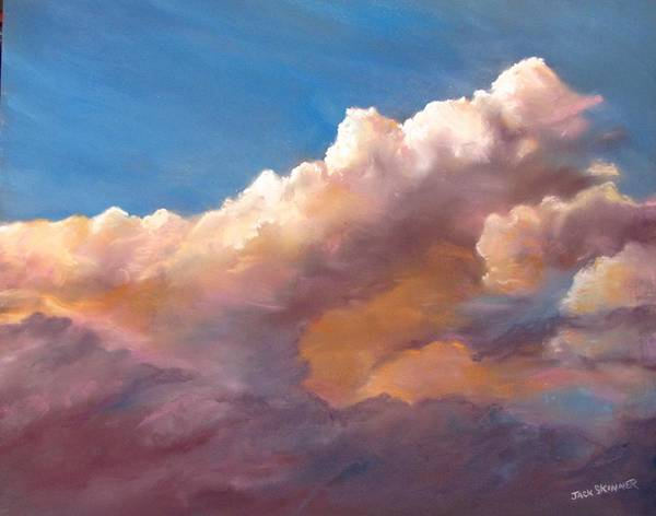 Wall Art - Painting - Clouds Over The Island by Jack Skinner