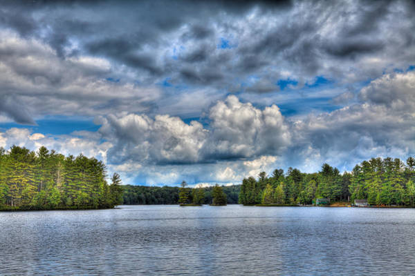 Photograph - Clouds Over White Lake by David Patterson
