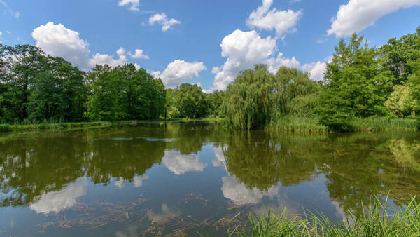 Photograph - Clouds Reflected In A Polish Summer Lake by Jacek Wojnarowski
