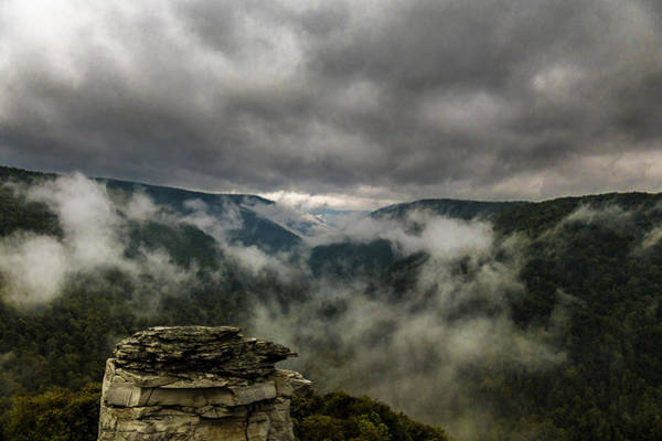 Photograph - Clouds Rising At Lindy Point by Jorge Perez - BlueBeardImagery
