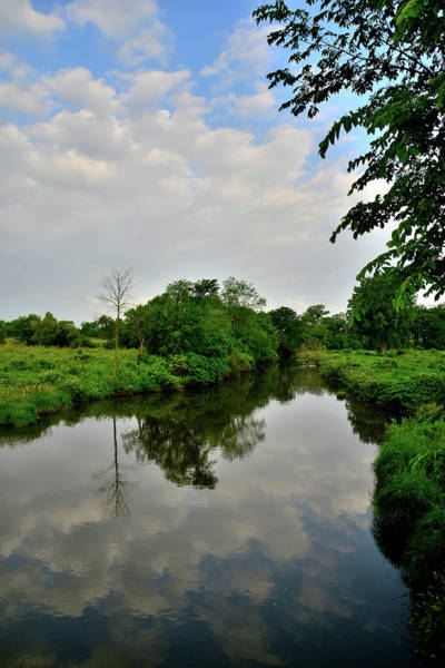 Photograph - Clouds Roll In Over Nippersink Creek In Glacial Park by Ray Mathis