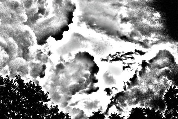 Photograph - Clouds Watching by Gina O'Brien