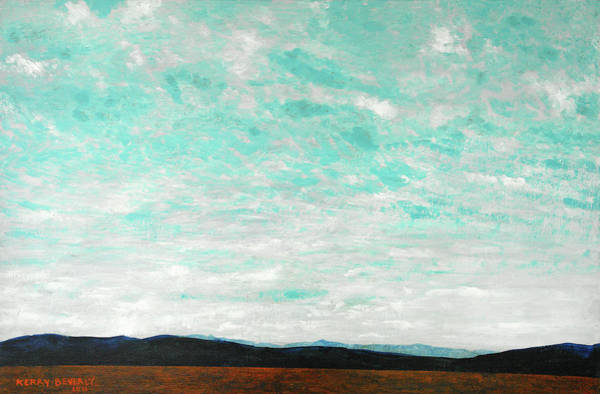 Painting - Cloudscape B by Brandy Beverly