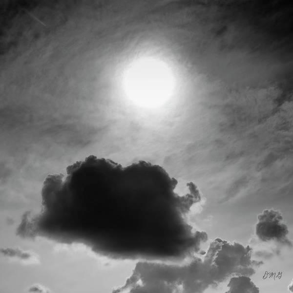 Photograph - Cloudscape Xiv Bw Sq by David Gordon