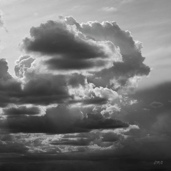 Photograph - Cloudscape Xv Bw Sq by David Gordon