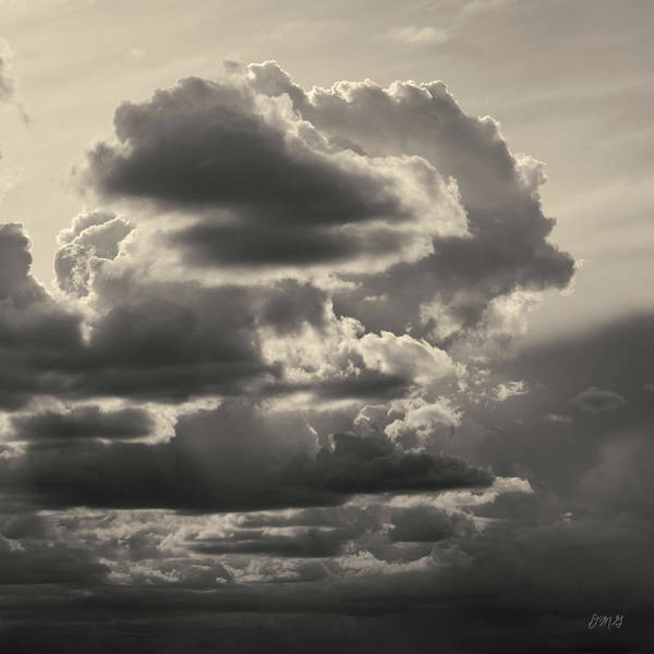 Photograph - Cloudscape Xv Toned Sq by David Gordon