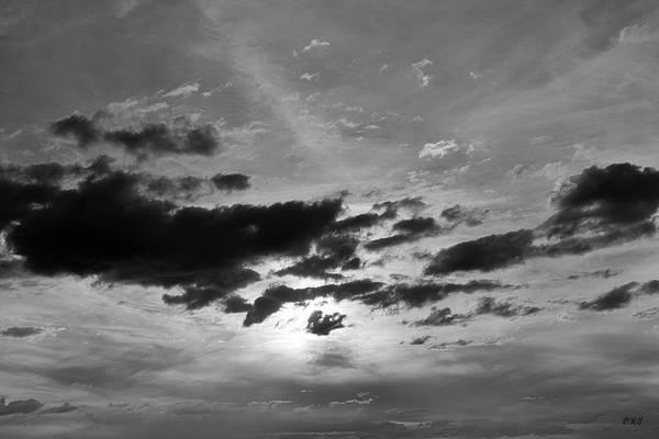 Photograph - Cloudscape Xxi Bw by David Gordon