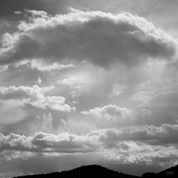 Photograph - Cloudscape Xxiv Bw by David Gordon