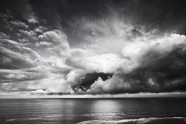 Wall Art - Photograph - Clouds Opening Up by Andrew Soundarajan