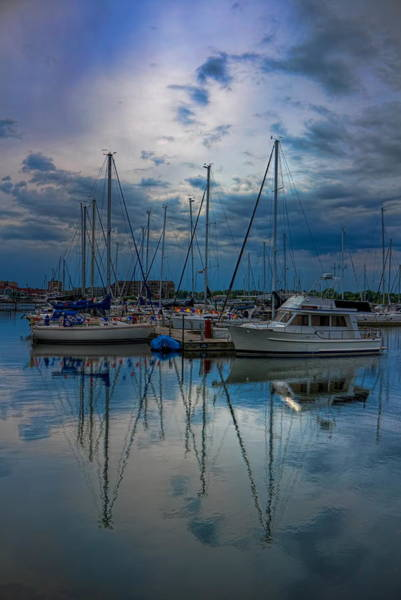 Photograph - Cloudy Afternoon At Reefpoint Marina by Dale Kauzlaric