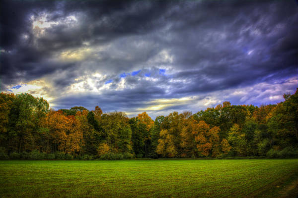 Photograph - Cloudy Autumn by Francisco Gomez