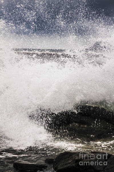 Condition Wall Art - Photograph - Cloudy Bay Storms And Turbulent Seas by Jorgo Photography - Wall Art Gallery