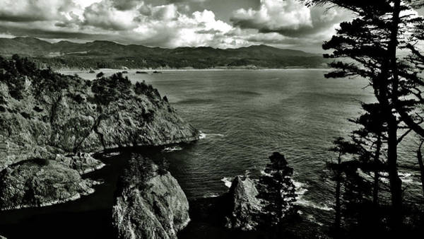 Photograph - Cloudy Coast by Pacific Northwest Imagery
