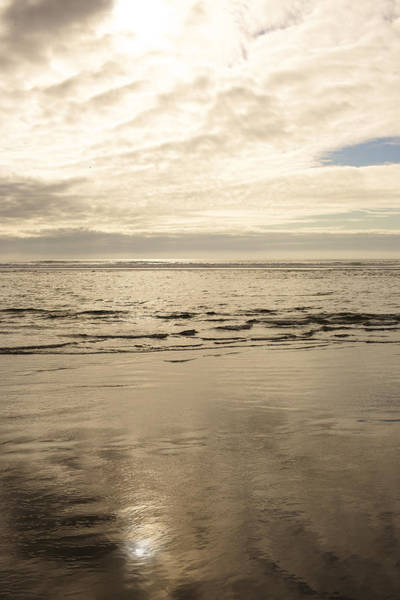 Wall Art - Photograph - Cloudy Day Overlooking The Ocean by Gillham Studios