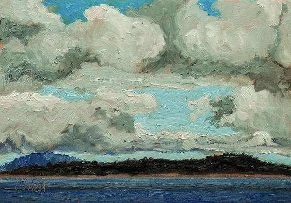 Painting - Cloudy Day by Rob Owen