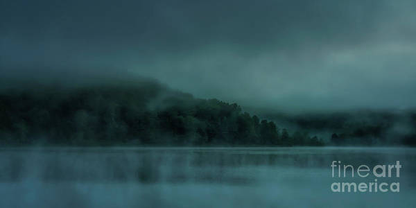 Photograph - Cloudy Daybreak At The Lake by Thomas R Fletcher