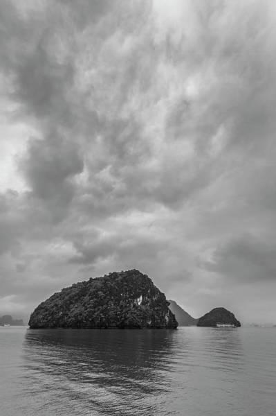 Photograph - Cloudy Ha Long Bay by Hitendra SINKAR