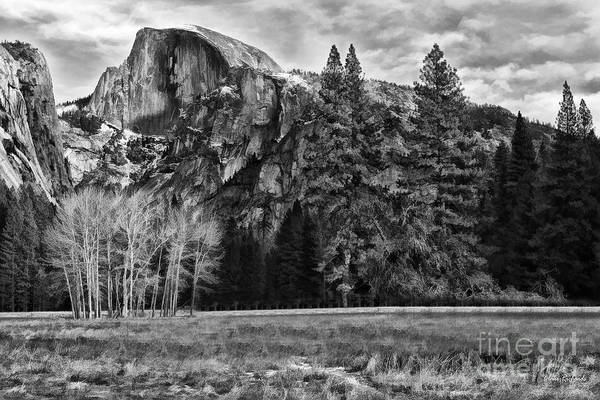 Photograph - Cloudy Hafe Dome Evening by Blake Richards