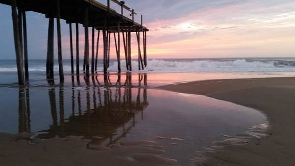 Photograph - Cloudy Morning Reflections by Robert Banach