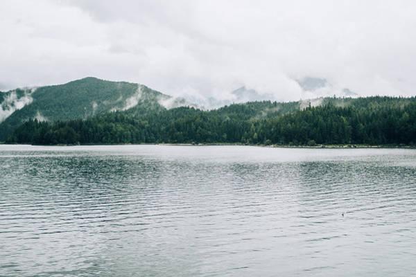 Wall Art - Photograph - Cloudy Mountain Lake by Pati Photography