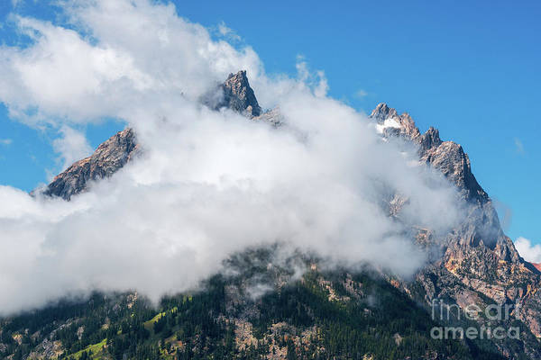 Photograph - Clouded Peaks by Sharon Seaward