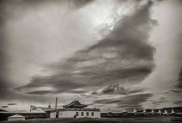 Photograph - Cloudy Sky, Karakorum, 2016 by Hitendra SINKAR