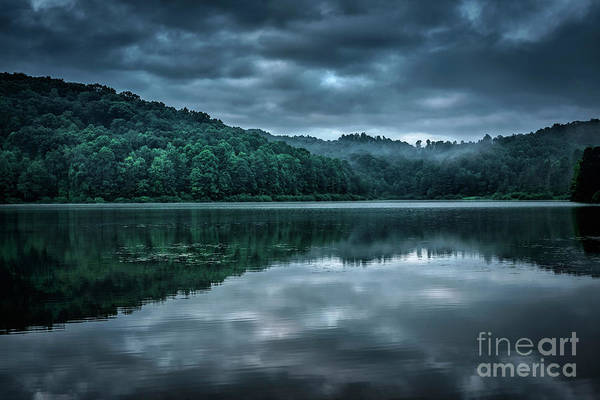 Photograph - Cloudy Summer Morning  by Thomas R Fletcher