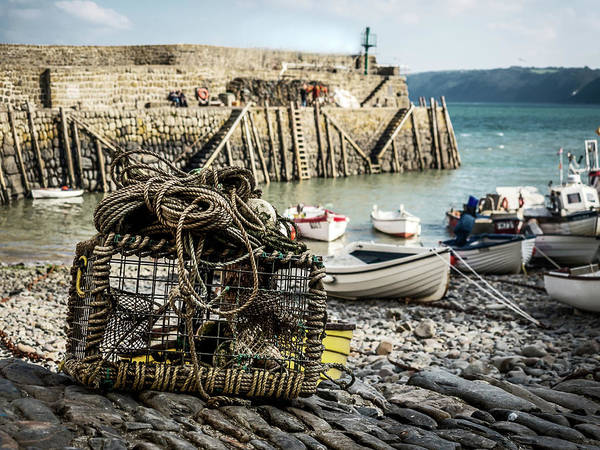 Photograph - Clovelly Crab Trap by Nick Bywater