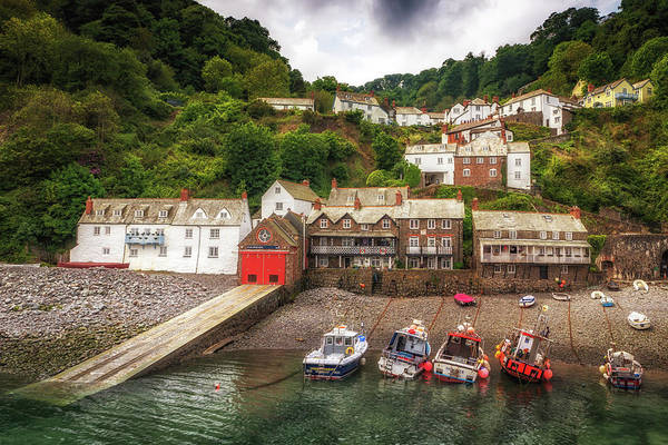 Photograph - Clovelly Village by Framing Places