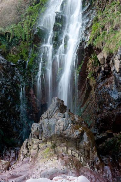 Clovelly Waterfall Art Print
