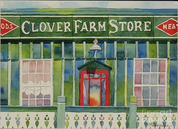 Wall Art - Painting - Clover Farm Store by Annette McGarrahan