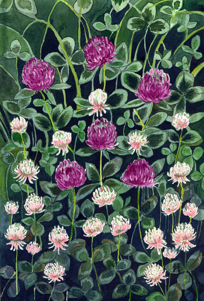 Painting - Clover by Katherine Miller