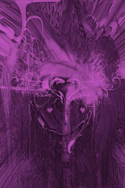Wall Art - Digital Art -  Clown Heart by Linda Sannuti