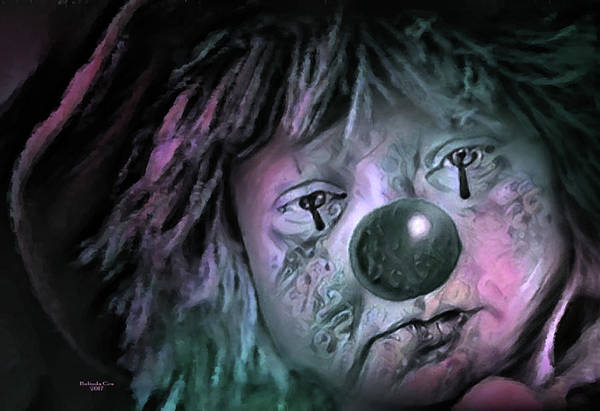 Digital Art - Clowning Around 2 by Artful Oasis