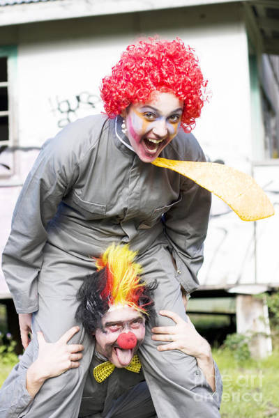 Photograph - Clowning Around by Jorgo Photography - Wall Art Gallery