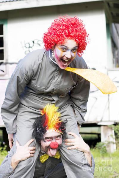 Amuse Photograph - Clowning Around by Jorgo Photography - Wall Art Gallery