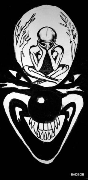 Clowning Art Print