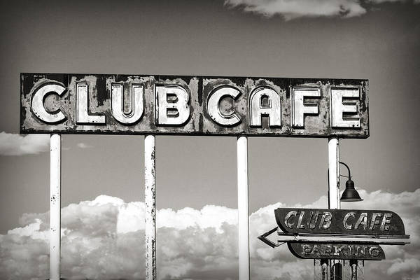 Photograph - Club Cafe by Patricia Montgomery
