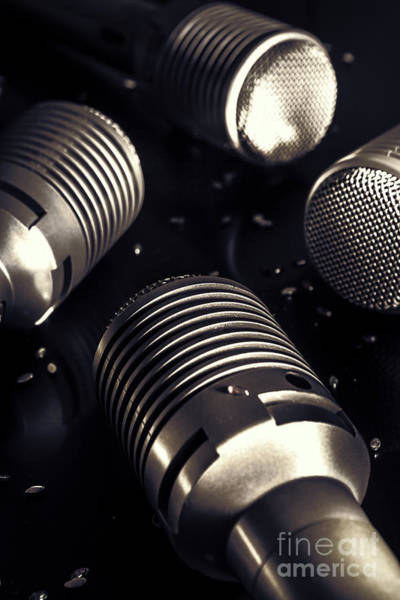 Microphone Photograph - Club House Dj by Jorgo Photography - Wall Art Gallery