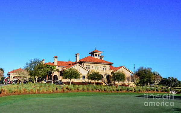 Photograph - Clubhouse At Tpc Sawgrass by Randy J Heath